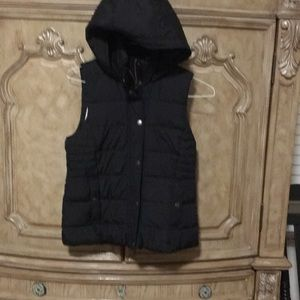 New Abercrombie A&F cozy puffer vest small woman's